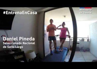 Daniel Pineda y Macarena Reyes